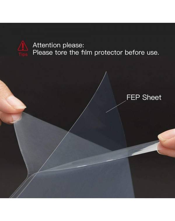 FEP Film 0.15*140*200mm,4pcs/pack